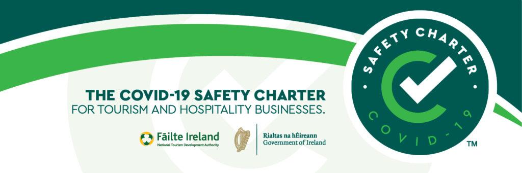 Failte ireland Safety Charter logo